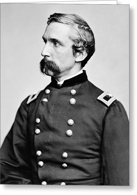 General Joshua Chamberlain  Greeting Card by War Is Hell Store