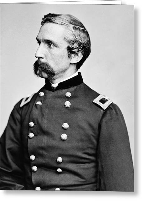 Civil War History Greeting Cards - General Joshua Chamberlain  Greeting Card by War Is Hell Store