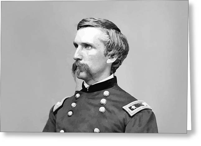Gettysburg Greeting Cards - General Joshua Lawrence Chamberlain Greeting Card by War Is Hell Store