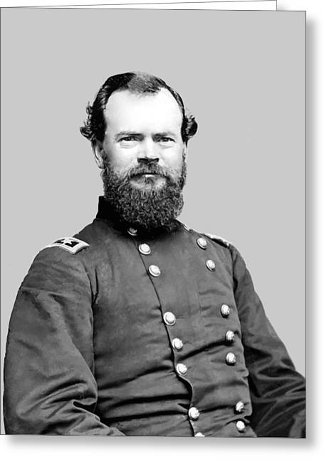 History Of Tennessee Greeting Cards - General McPherson Greeting Card by War Is Hell Store