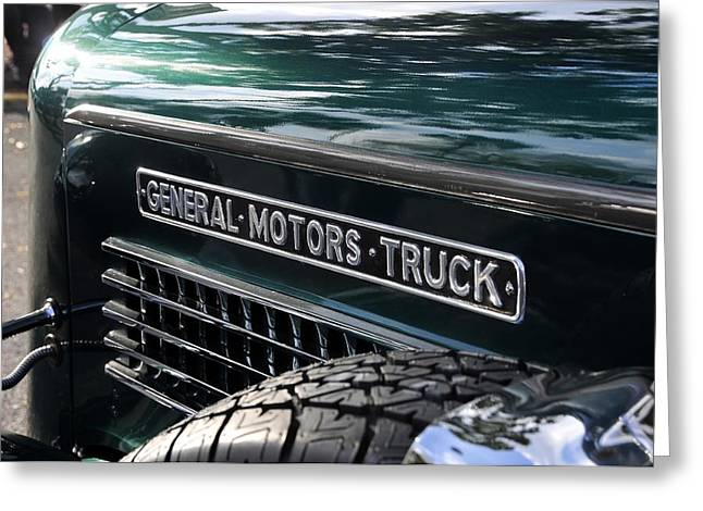 Antic Car Greeting Cards - General motors truck Greeting Card by David Lee Thompson