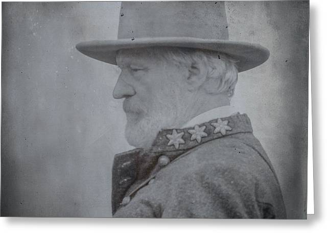 The General Lee Greeting Cards - General Robert E Lee Portrait  Greeting Card by Randy Steele