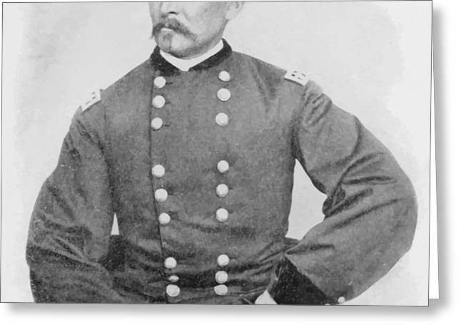 General Sheridan Civil War Portrait Greeting Card by War Is Hell Store