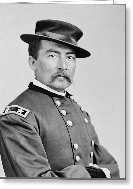 Civil War Digital Art Greeting Cards - General Sheridan Greeting Card by War Is Hell Store