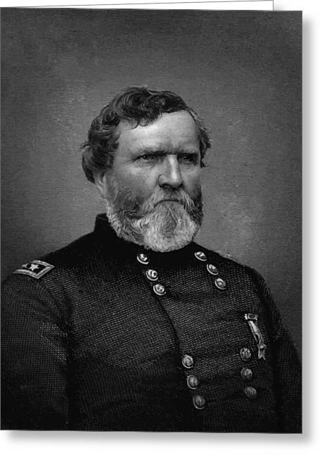 General Thomas Greeting Card by War Is Hell Store