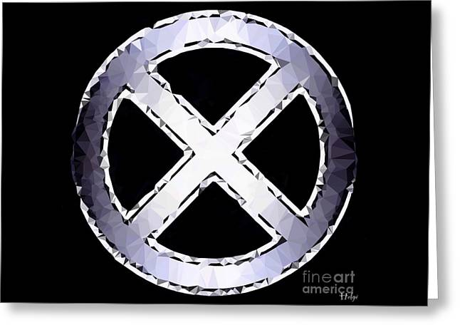 X Men Poster Greeting Cards - Generation X Greeting Card by Helge