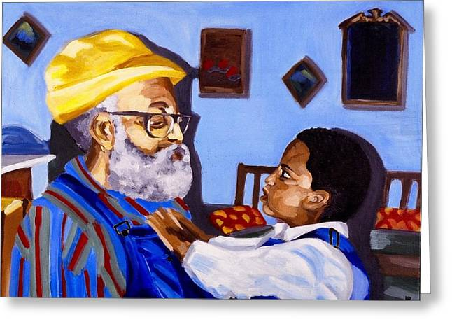 African Heritage Greeting Cards - Generations Greeting Card by Jodye  Beard-Brown