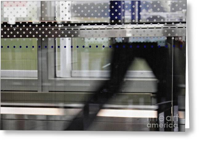 Modern Photographs Greeting Cards - Geneva Airport 8 Greeting Card by Sarah Loft