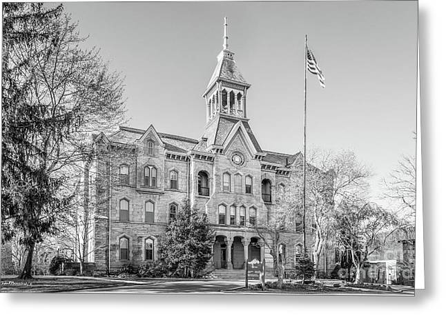Geneva College Old Main Greeting Card by University Icons