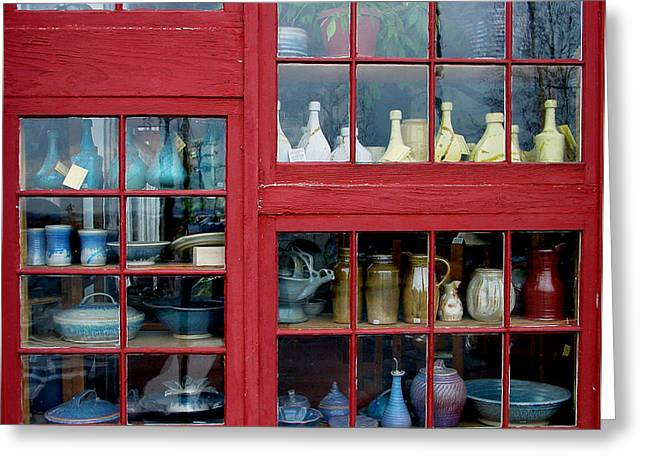 Store Fronts Greeting Cards - GenieFest Greeting Card by Robert Trauth