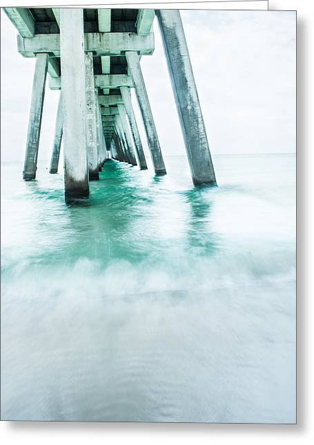 Florida House Greeting Cards - Gentle Waves Greeting Card by Shelby  Young