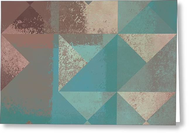 Geomix 03 - s123bc04t2a Greeting Card by Variance Collections