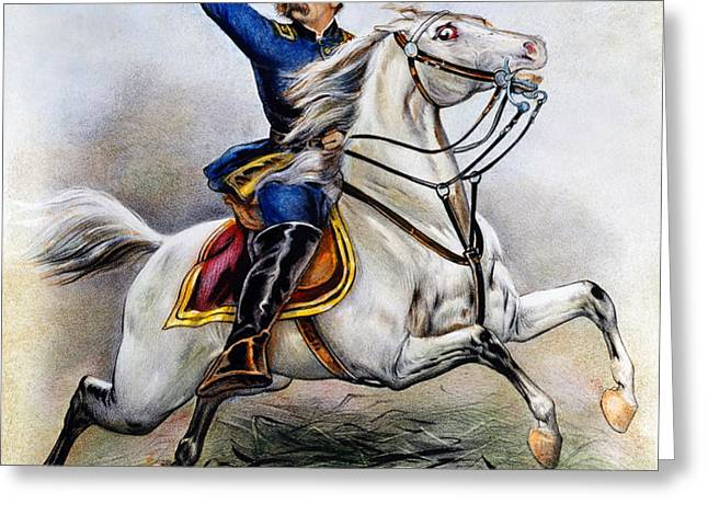 GEORGE ARMSTRONG CUSTER Greeting Card by Granger