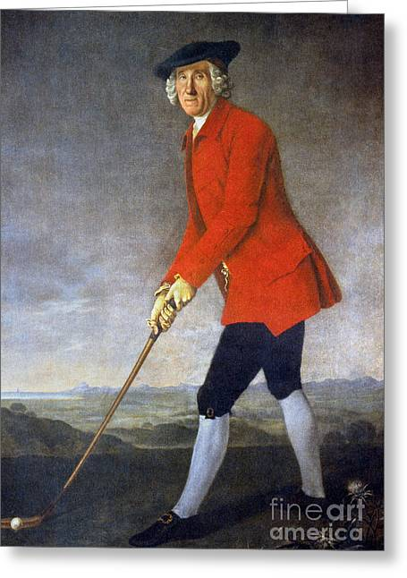 18th Century Greeting Cards - George Chambers: Greeting Card by Granger