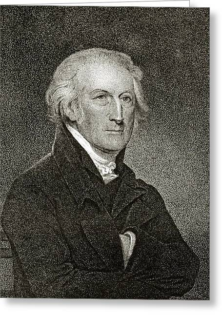 Signatories Greeting Cards - George Clymer 1739 To 1813 American Greeting Card by Ken Welsh