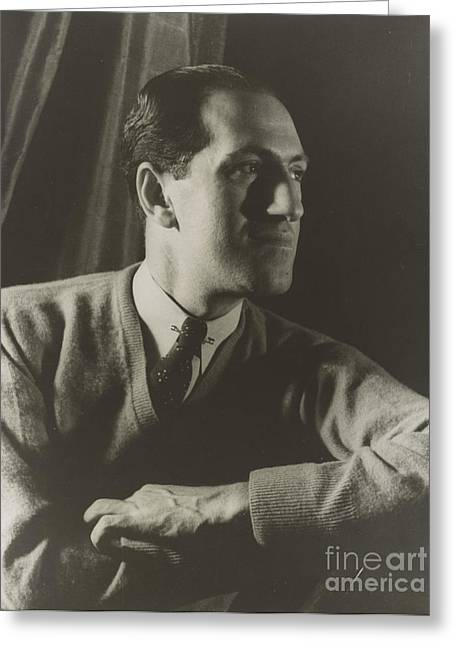 Gershwin Greeting Cards - George Gershwin, American Composer Greeting Card by Science Source