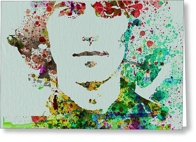 George Harrison Greeting Card by Naxart Studio