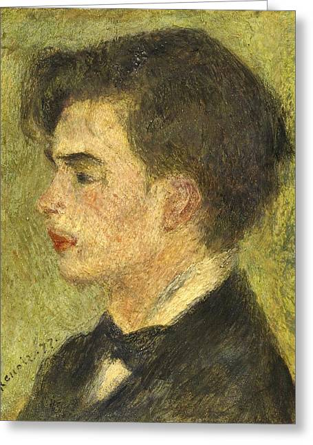Famous Artist Greeting Cards - Georges Riviere Greeting Card by Auguste Renoir