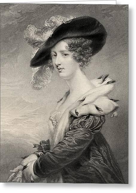 Agar Greeting Cards - Georgiana Agar-ellis,lady Dover Greeting Card by Ken Welsh