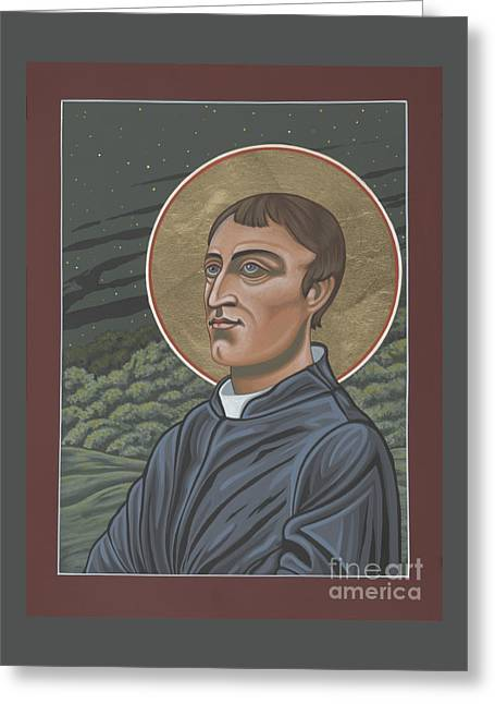 Gerard Manley Hopkins Amidst The Firefolk 215 Greeting Card by William Hart McNichols