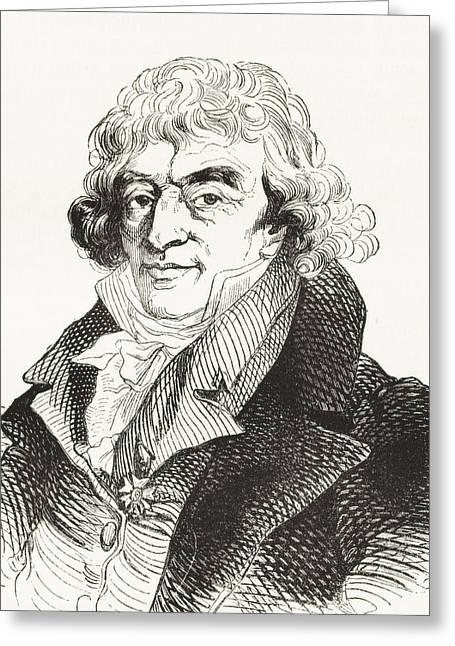 18th Century Greeting Cards - Gerard Van Spaendonck, 1746 -1822 Greeting Card by Ken Welsh