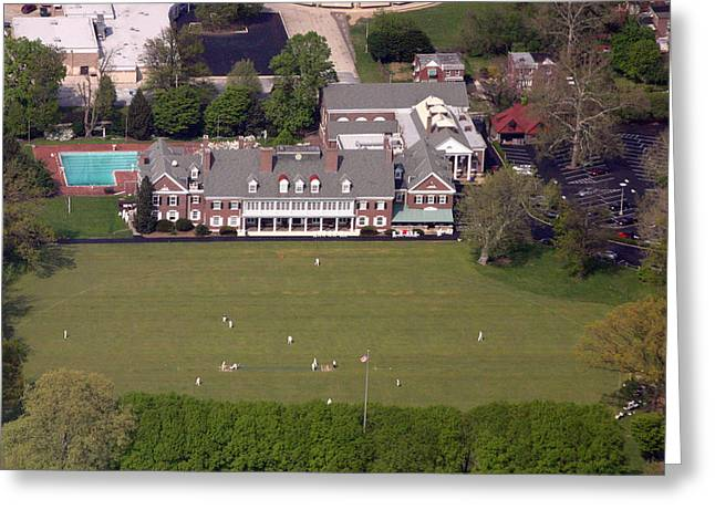 Mcc Greeting Cards - Germantown Cricket Club 3 Greeting Card by Duncan Pearson