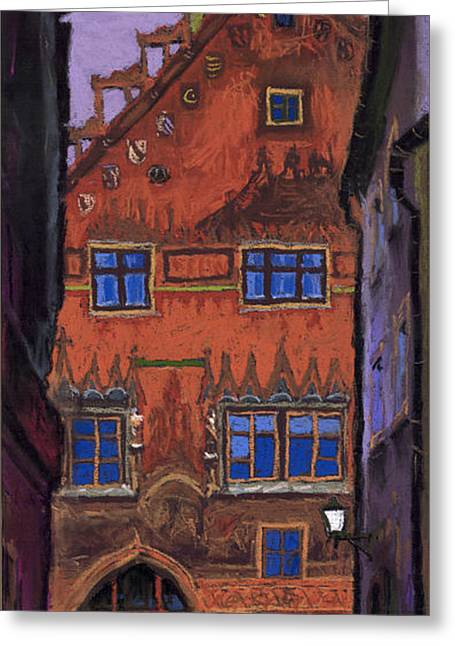 Old Street Greeting Cards - Germany Ulm Greeting Card by Yuriy  Shevchuk