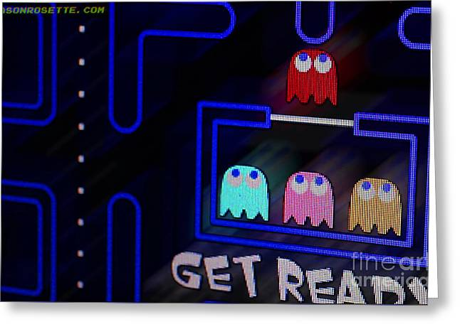 Get Ready Greeting Card by Jason Rosette