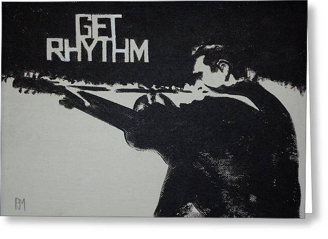 Get Rhythm Greeting Card by Pete Maier