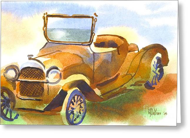 Authentic Colors Greeting Cards - Getting a Little Rusty Greeting Card by Kip DeVore