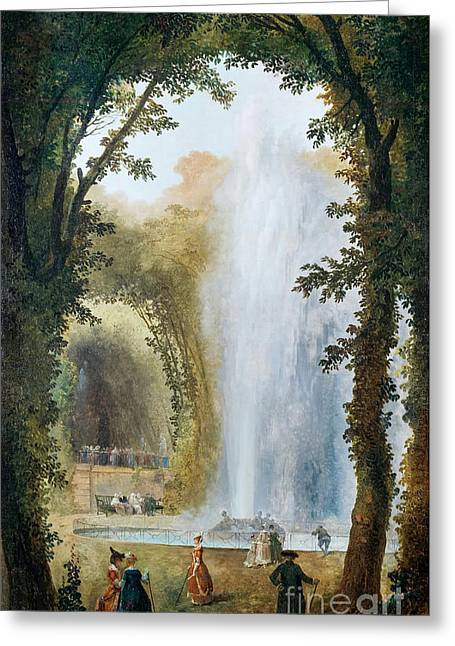 Geyser Greeting Card by Celestial Images