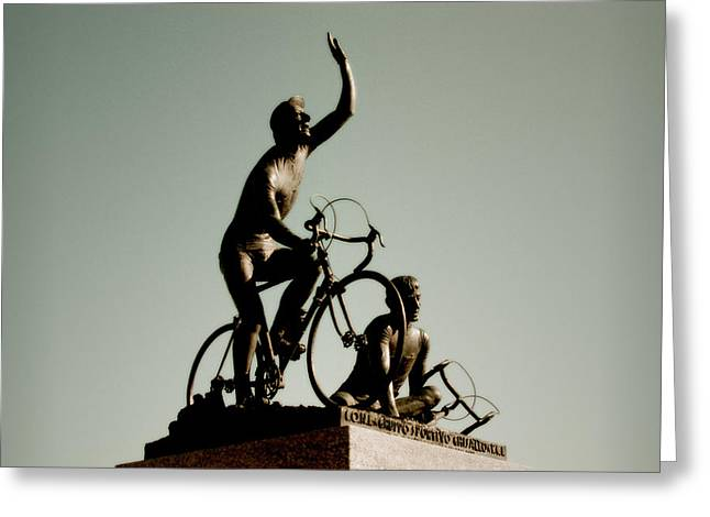 Ghisallo Greeting Card by Chuck Parsons