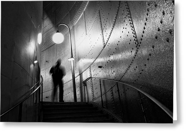 Metro Photographs Greeting Cards - Ghost Greeting Card by Art Lionse