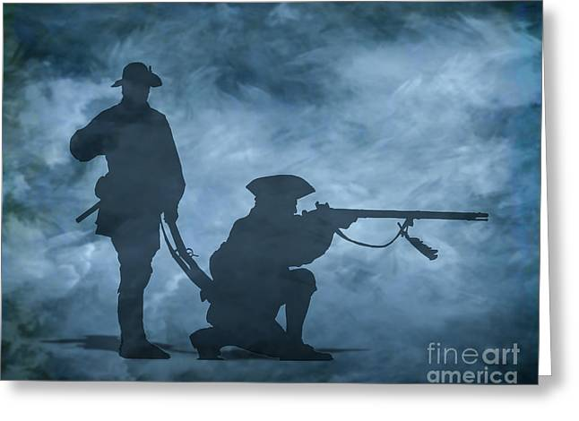 Ghost Soldiers Greeting Card by Randy Steele