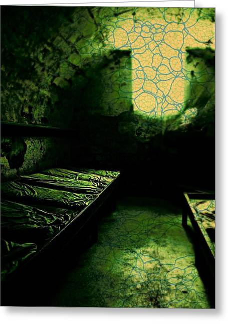 Dungeons Greeting Cards - Ghostlight in the Barracks Greeting Card by Lee Zumpe