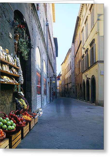 Sienna Italy Greeting Cards - Ghosts of Sienna Greeting Card by Scott Baker