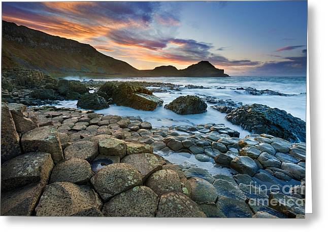 Giant's Causeway 1 Greeting Card by Rod McLean