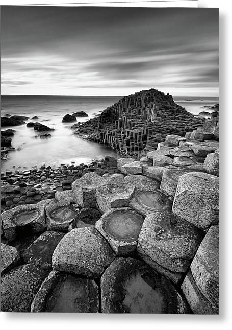 Giant's Causeway Greeting Card by Pawel Klarecki