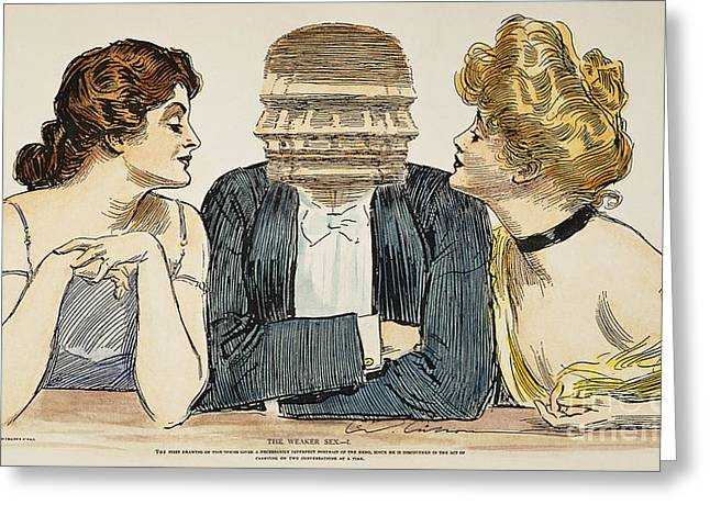 Gibson Girls, 1903 Greeting Card by Granger