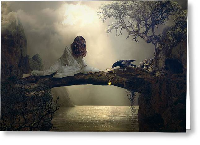 """""""photo Manipulation"""" Photographs Greeting Cards - Gift Greeting Card by Nataliorion"""