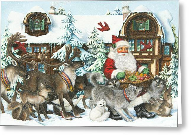 Gifts For All Greeting Card by Lynn Bywaters