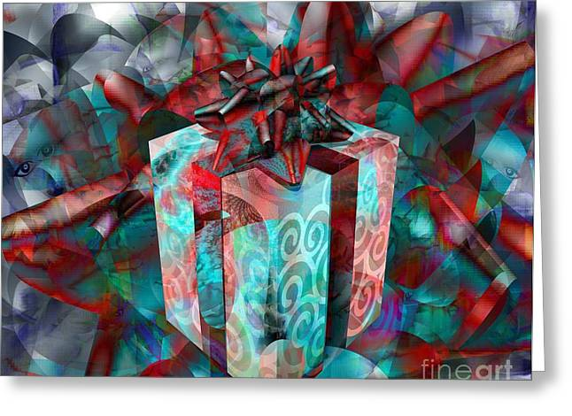 Gifts For Street Kids International Greeting Card by Fania Simon