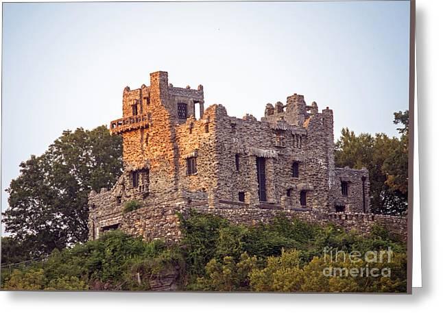 Gillette Castle Greeting Cards - Gillette Castle Greeting Card by Linda Troski