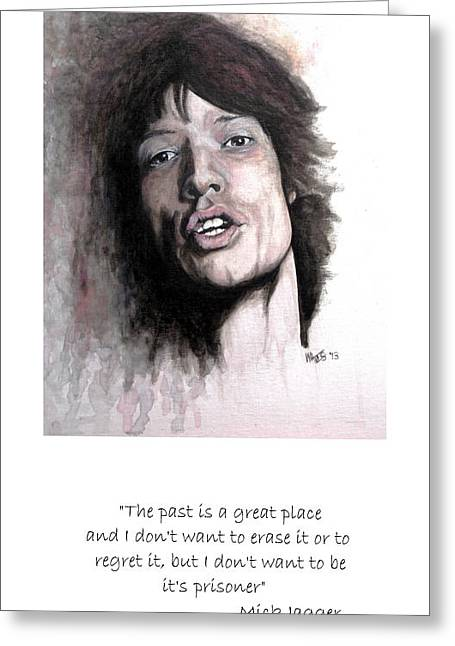 William Walts Greeting Cards - Gimme Shelter - Quote Greeting Card by William Walts