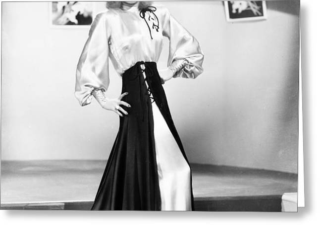 GINGER ROGERS (1911-1995) Greeting Card by Granger