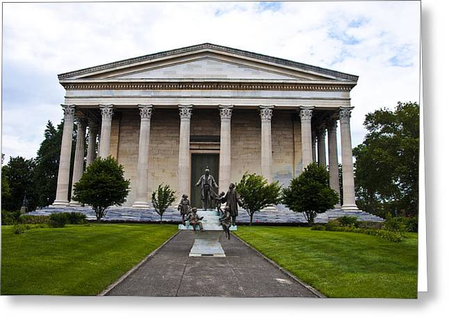 Girard College Philadelphia Greeting Card by Bill Cannon