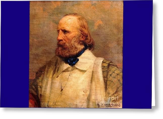 Giuseppe Garibaldi Greeting Card by Pg Reproductions