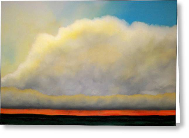 Storm Pastels Greeting Cards - Giving Life to the Prairie Greeting Card by Mark Schultz