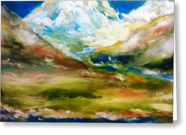 Glacial Summer Greeting Card by Patricia Taylor