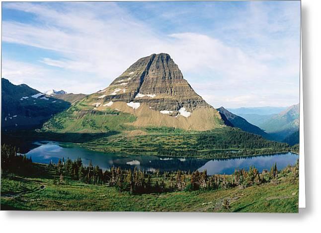 Panoramics Greeting Cards - Glacier National Park,montana Greeting Card by Panoramic Images
